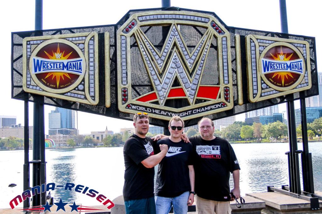 WrestleMania Reise Gruppe