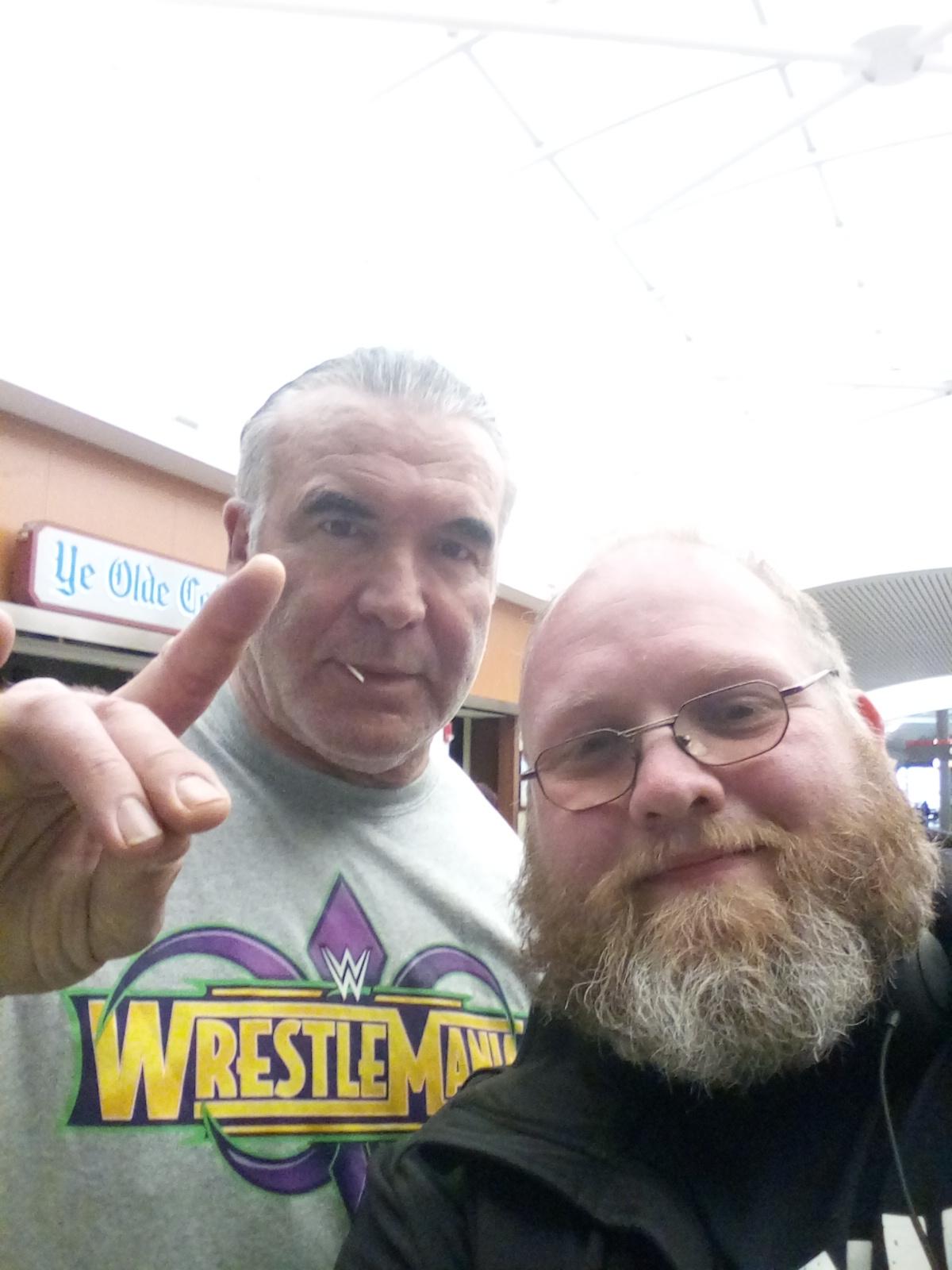w/ WWE Hall of Famer Scott Hall